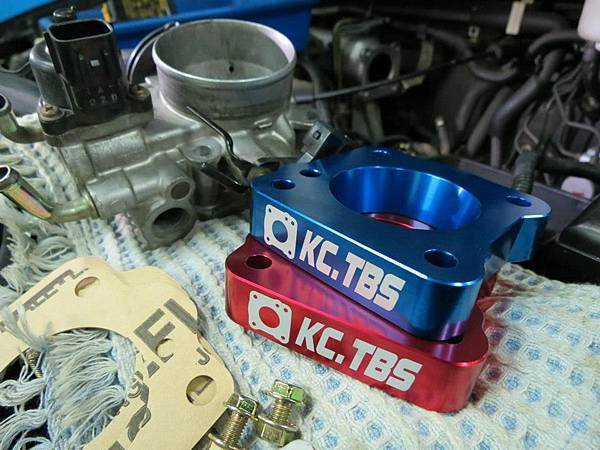 Mitsubishi Savrin 2.0 (4G63) Install KC.TBS Throttle Body Sapcer_002