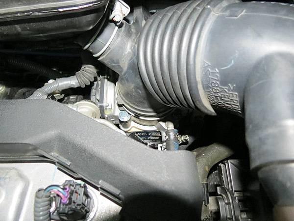 Toyota 2012 Camry 2.5 (2AR-FE) Install KC.TBS Throttle Body Spacer_005