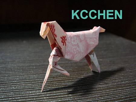 台幣摺紙馬3