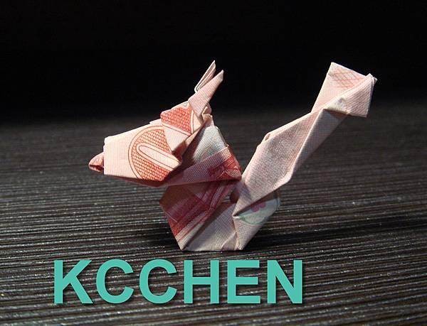 台幣摺紙龍