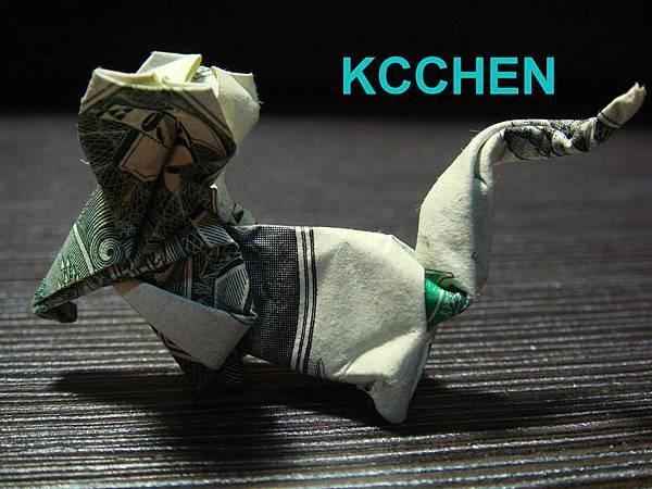 美金台幣鈔票摺紙老鼠 money origami (2)