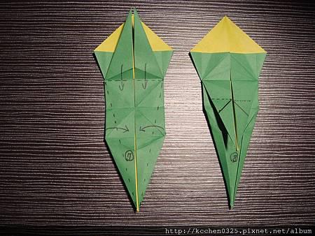 摺紙鸚鵡 (7)