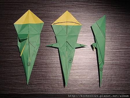 摺紙鸚鵡 (10)