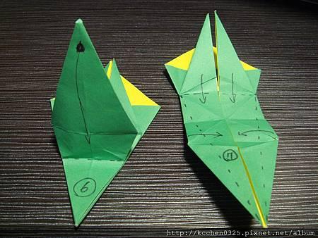 摺紙鸚鵡 (16)