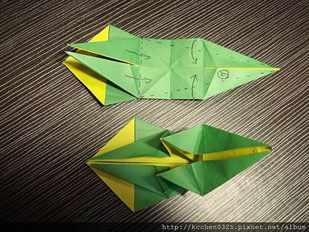 摺紙鸚鵡 (17)