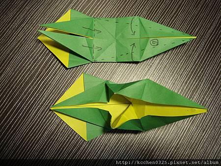 摺紙鸚鵡 (18)