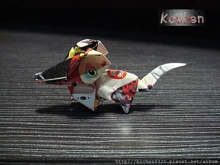 鈔票摺紙 美金台幣老鼠 錢花 dollar bill origami (42)