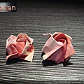 鈔票摺紙 美金台幣老鼠 錢花 dollar bill origami (8)
