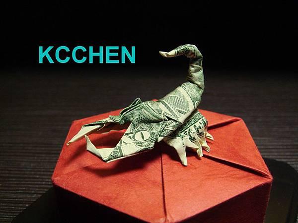 紙鈔摺紙-蠍子02