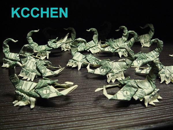 紙鈔摺紙-蠍子03