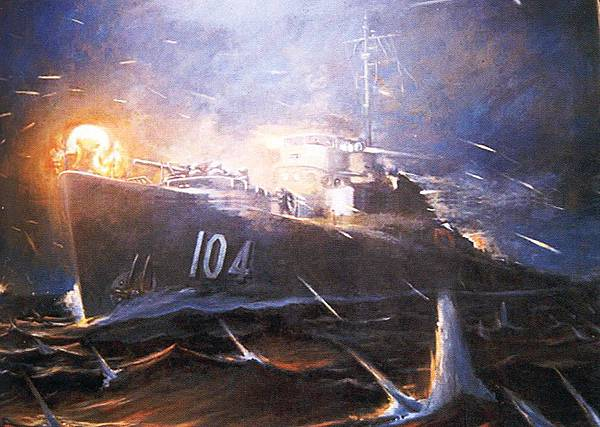 92海戰油畫