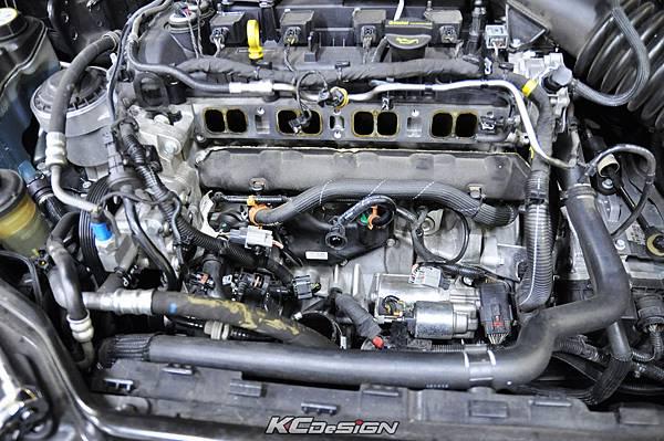 Volvo XC60 T5 installed KC.TBS throttle body spacer _07.jpg