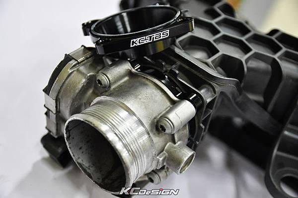 Volvo XC60 T5 installed KC.TBS throttle body spacer _16.jpg