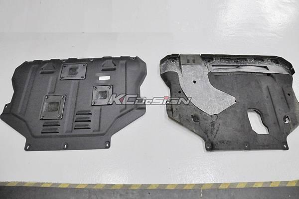 Ford Kuga 1.6T 安裝 KCDesign 塑鋼引擎下護板_01.jpg