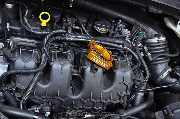 Ford Kuga 2.0 Ecoboost 安裝 KC.TBS 金色_06.jpg