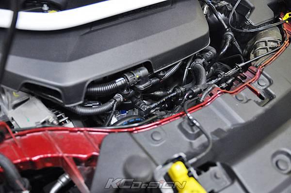 Ford Kuga 1.6T 安裝 KC.TBS 節氣門氣流倍增器 & 下護板_09.jpg