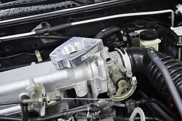 Ford Tierra 1.6 安裝 KC.TBS 節氣門氣流倍增器_03.jpg
