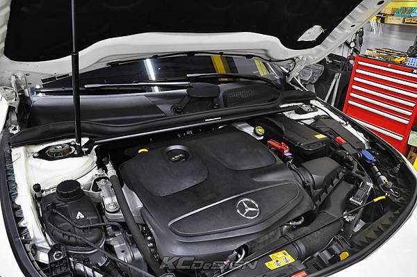 M-Benz CLA250 升級 KCDesign 引擎室拉桿、前下4點、後下4點拉桿_004.jpg