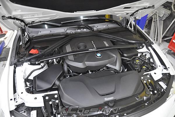 BMW F31 320 Lci  安裝 KCDesign B48 引擎室拉桿_001.jpg