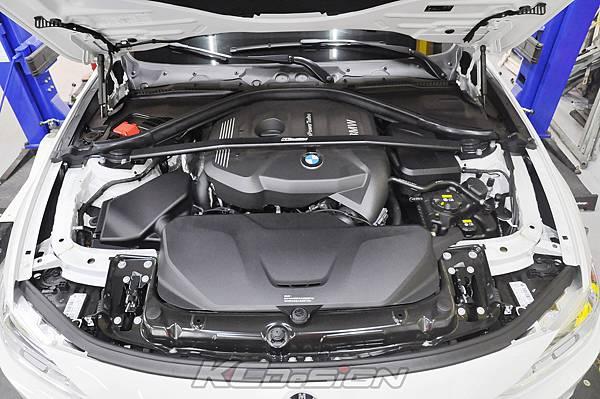 BMW F31 320 Lci  安裝 KCDesign B48 引擎室拉桿_004.jpg