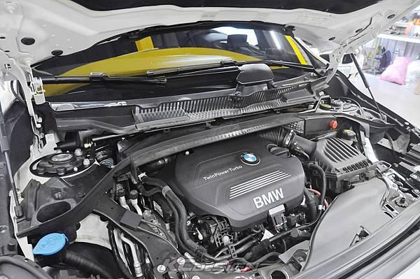 BMW F45 2AT 安裝 KCDesign 引擎室拉桿_001.jpg