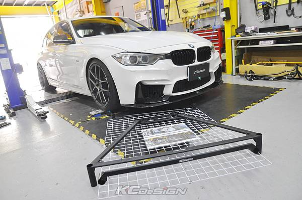 BMW F30 335i 升級 KCDesign 全車底盤結構桿、後防傾桿_009.jpg