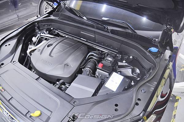 Volvo XC90 D5 安裝 KCDesign 底盤4件式結構桿_005.jpg