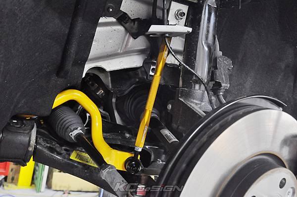 Volvo V60 D4 安裝 KCDesign 前後防傾桿+前李子串_016.jpg