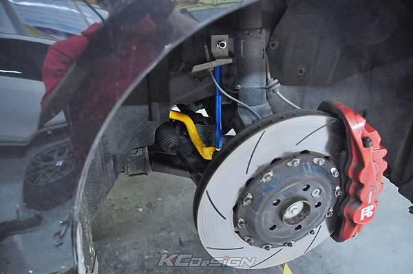 Volvo V60 T5 升級 KCDesign 渦輪管、前防傾、李子串_004.jpg