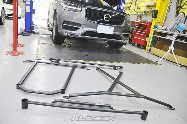 Volvo XC90 D4 升級 KCDesign 全車底盤結構桿_001.jpg
