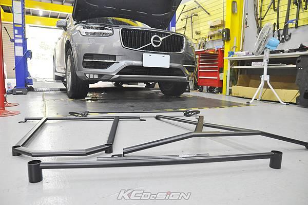 Volvo XC90 D4 升級 KCDesign 全車底盤結構桿_002.jpg