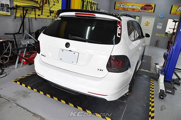 VW Golf 6 Variant 1.4 安裝 KCDesign 前下二點、後下二點式結構桿_010.jpg