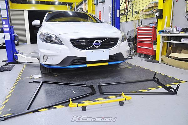 Volvo V40 D4R 升級 KCDesign 全車底盤結構桿、後防傾桿_001.jpg