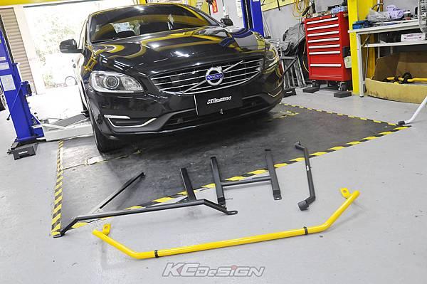 Volvo S60 D4 升級 KCDesign 底盤結構桿(三件式)、換裝後防傾桿(原Hardrace)_001.jpg