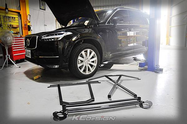 Volvo XC90 D4 安裝 KCDesign 全車底盤結構桿(五件式)_001.jpg
