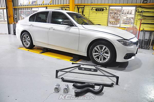 BMW F30 Lci 318i 升級 KCDesign 底盤結構桿、B38 渦輪管_002.jpg