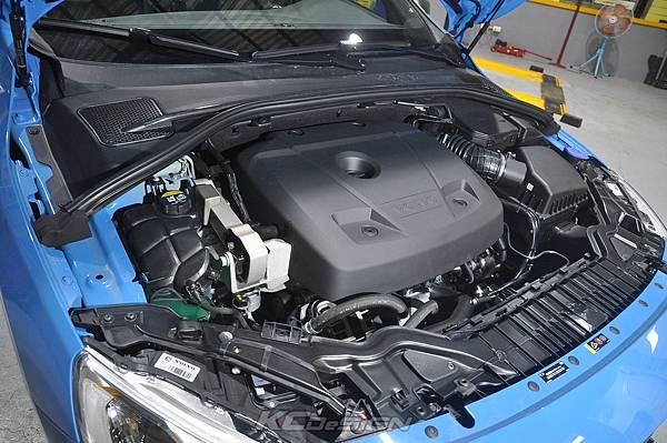 Volvo V60 Polestar 18年式 安裝 KCDesign 前後4點式結構桿、後防傾桿、T6 鋁合金渦輪管_052.jpg
