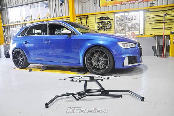 Audi RS3 8V 安裝 KCDesign 引擎拉桿、前後4點拉桿、後下2點拉桿_017.jpg