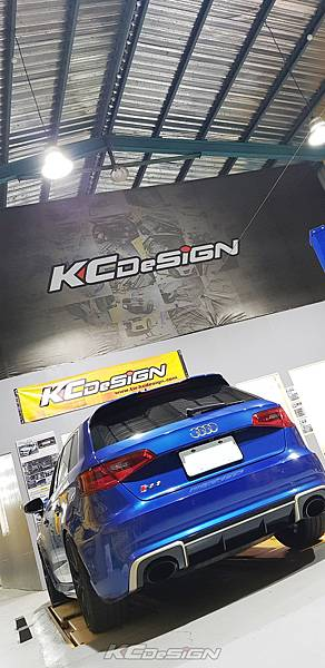 Audi RS3 8V 安裝 KCDesign 引擎拉桿、前後4點拉桿、後下2點拉桿_001.jpg