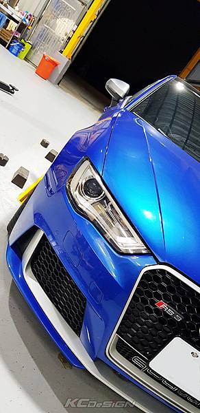 Audi RS3 8V 安裝 KCDesign 引擎拉桿、前後4點拉桿、後下2點拉桿_005.jpg