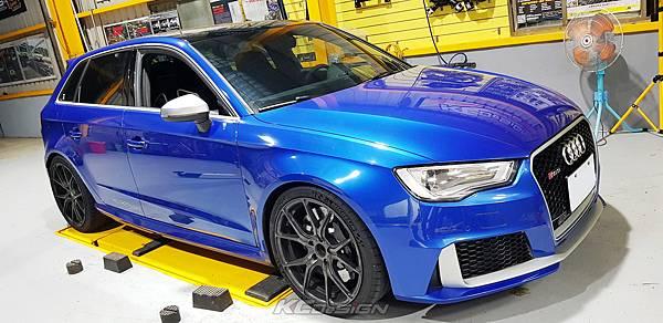 Audi RS3 8V 安裝 KCDesign 引擎拉桿、前後4點拉桿、後下2點拉桿_007.jpg
