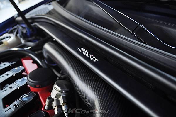 Audi RS3 8V 安裝 KCDesign 引擎拉桿、前後4點拉桿、後下2點拉桿_026.jpg