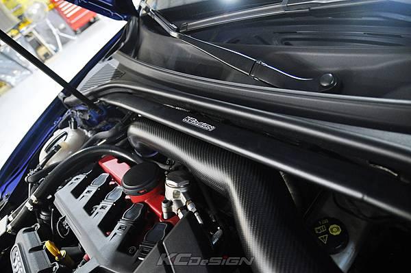 Audi RS3 8V 安裝 KCDesign 引擎拉桿、前後4點拉桿、後下2點拉桿_025.jpg
