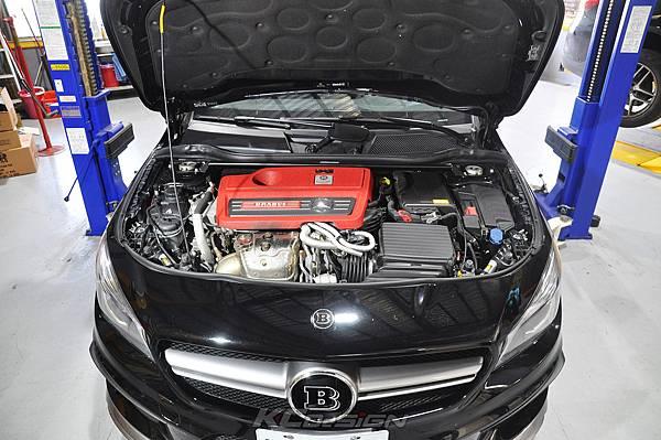 M-Benz Brabus CLA45 安裝 KCDesign 引擎、前二、後4點拉桿、後行李箱拉桿_014.jpg