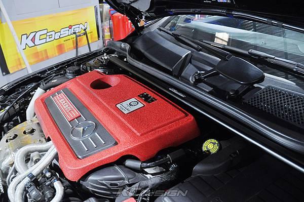 M-Benz Brabus CLA45 安裝 KCDesign 引擎、前二、後4點拉桿、後行李箱拉桿_007.jpg