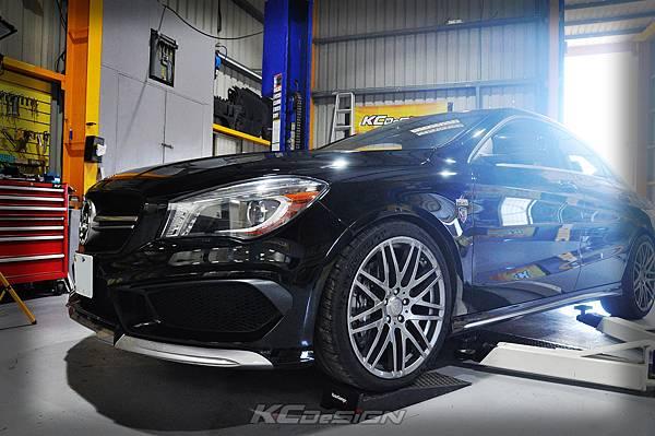 M-Benz Brabus CLA45 安裝 KCDesign 引擎、前二、後4點拉桿、後行李箱拉桿_067.jpg