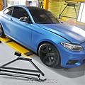 BMW F22 220D 升級 KCDesign 引擎室拉桿、前2點拉桿、後4點、後2點拉桿_002.jpg