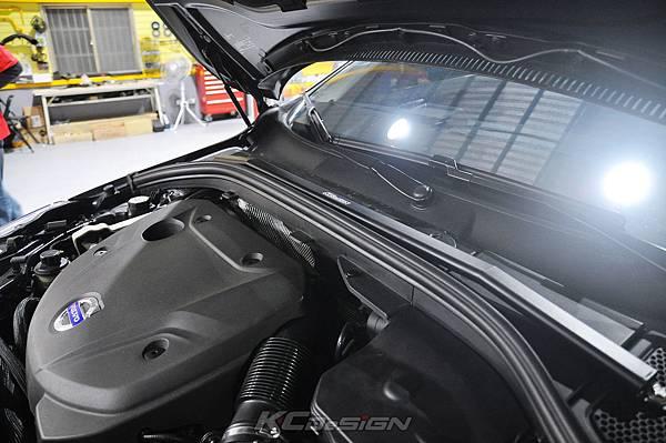 Volvo XC60 T5 8速 升速 KCDesign 鋁合金渦輪管、引擎室拉桿_010.jpg