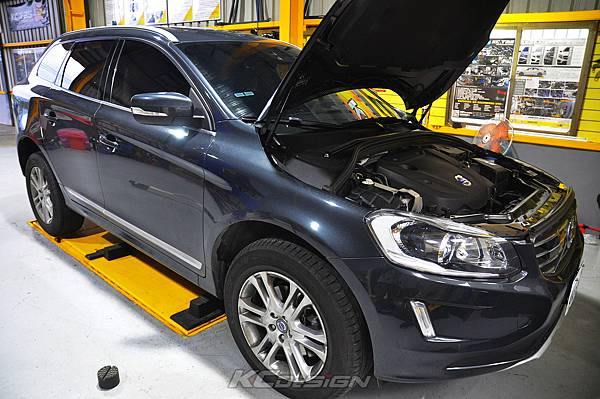 Volvo XC60 T5 8速 升速 KCDesign 鋁合金渦輪管、引擎室拉桿_012.jpg