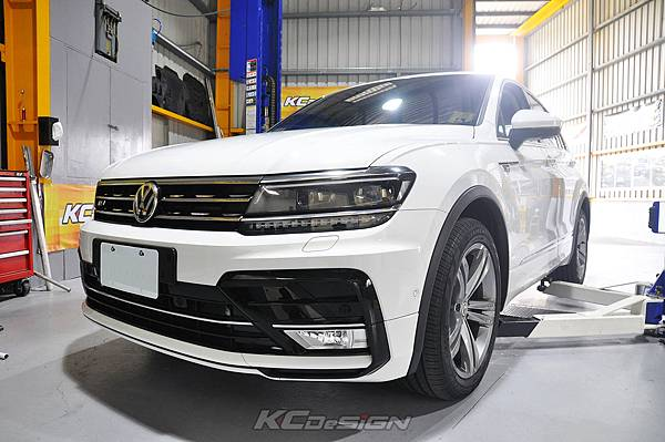 VW Tiguan MK3 400 TDI 安裝 KCDesign 引擎拉桿、前下2點、前下4點、後下4點拉桿_040.jpg